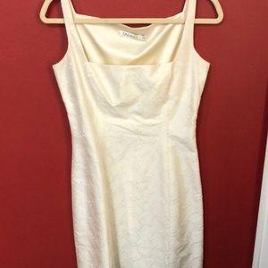 Ivory silk Tahari dress size 4